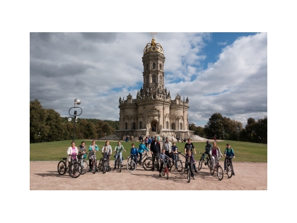 Велосипедный поход в Поливаново воскресной школы