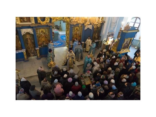 Престольный праздник в Дубровицах и 25 лет возобновления литургической жизни храме