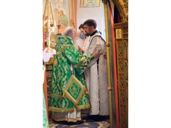 Рукоположение во диакона катехизатора нашего храма