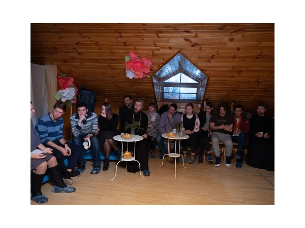 Встреча с выпускниками воскресной школы
