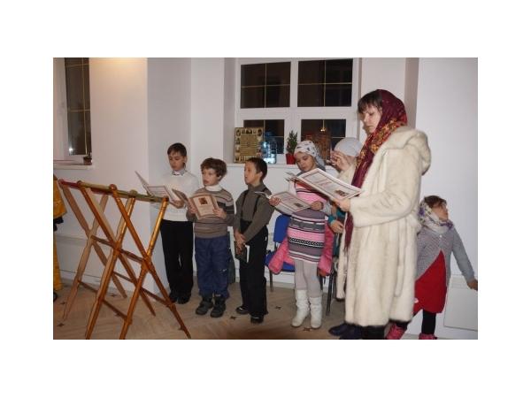 Новый Год с детским хором в Уаровском храме в Булатово