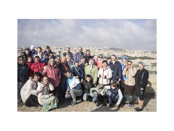Паломничество Дубровицких прихожан в Святую Землю