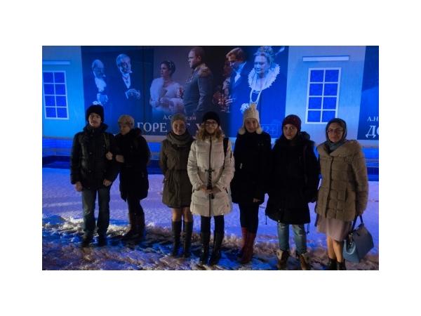 Посещение воскресной школой московских театров