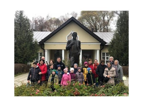 Поездка воскресной школы в Мелихово