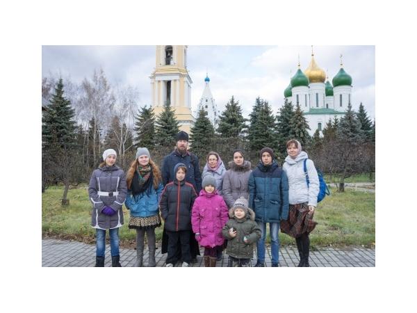 Поездка воскресной школы в Коломну