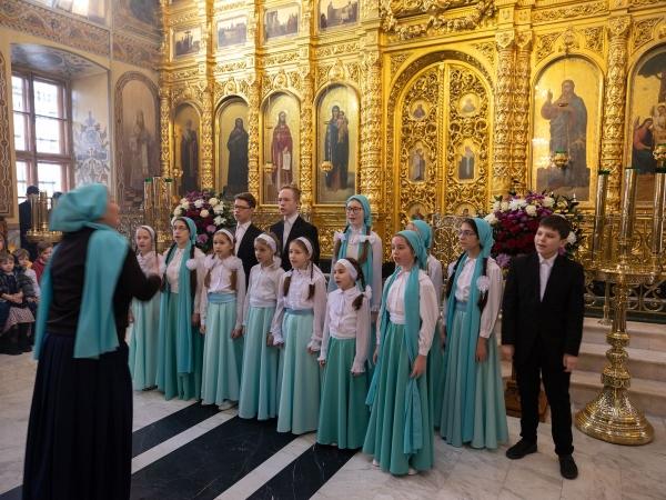 Участие ансамбля «Притча» в фестивале детских и юношеских хоров «Душа православная»