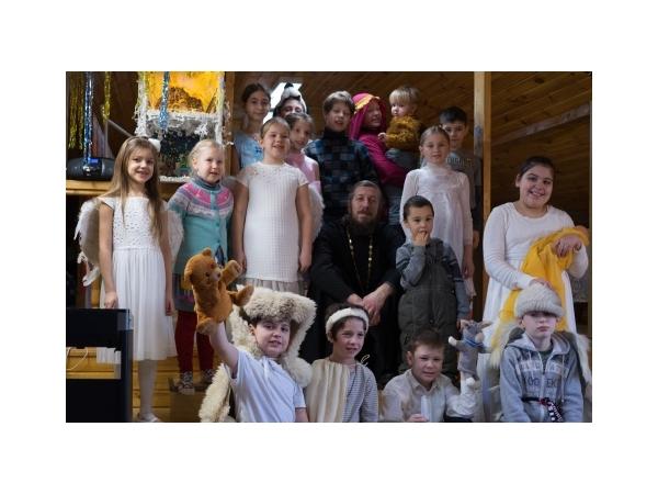 Рождество Христово в Дубровицком храме и в воскресной школе