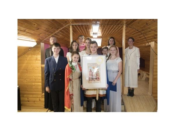 """Музыкально-литературная композиция """"Святые супруги в истории христианской Церкви"""" воскресной школы"""