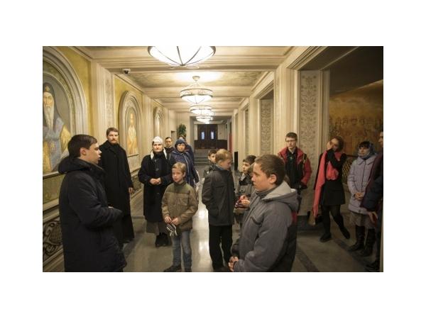 Паломничество воскресной школы в Сретенский монастырь