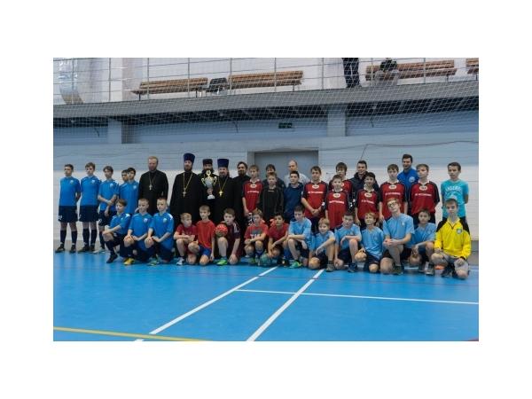 Турнир по мини-футболу на кубок Подольского благочиния