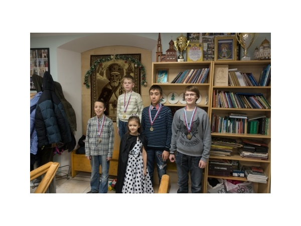 Турнир по шахматам в воскресной школе