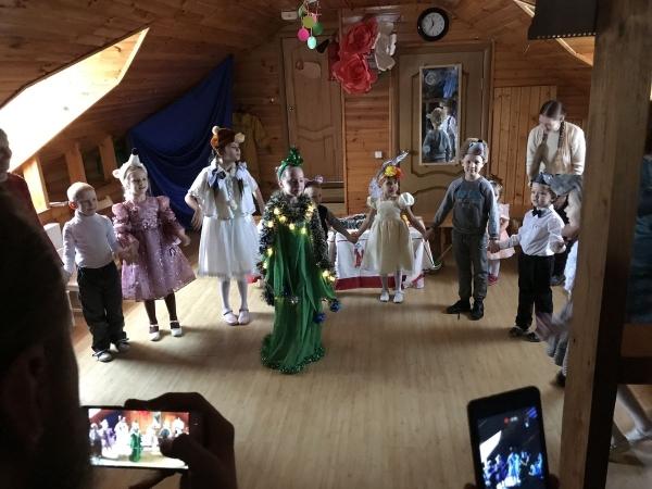 Рождественский праздник в дошкольной группе воскресной школы